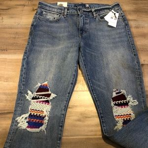 Levi's Made &Crafted Boyfriend Jeans pin-dot 28